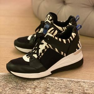 Michael Kors Wedge Sneakers | Size 8